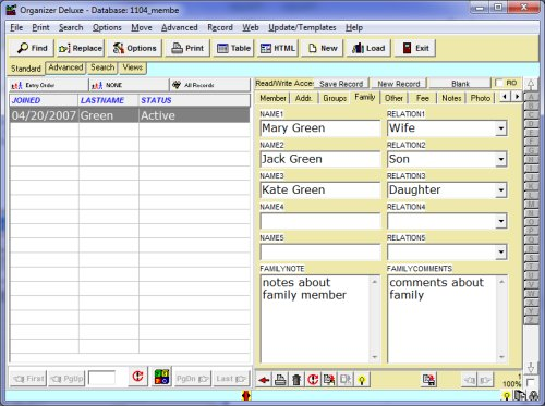 Simple church directory management solutions, software for windows.