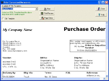 Purchase Order Manager Software Solution