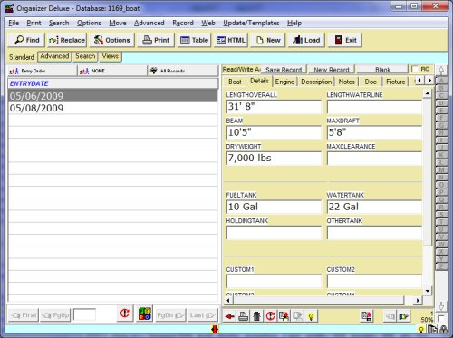 excel database templates .