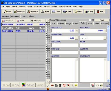 Solution Software Car Catalog Organizer Car Dealer Inventory