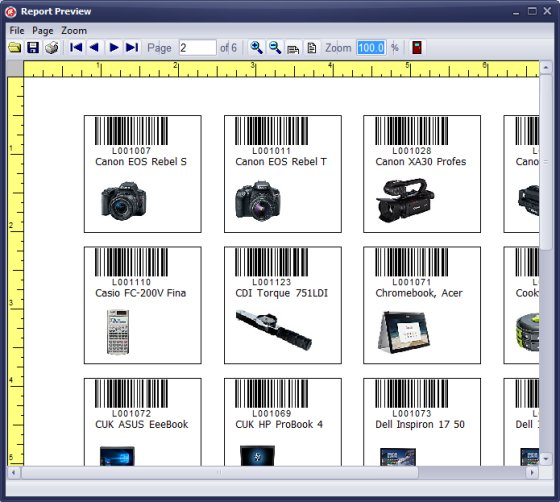 Durable Labels Tracking Equipment Asset And Tools