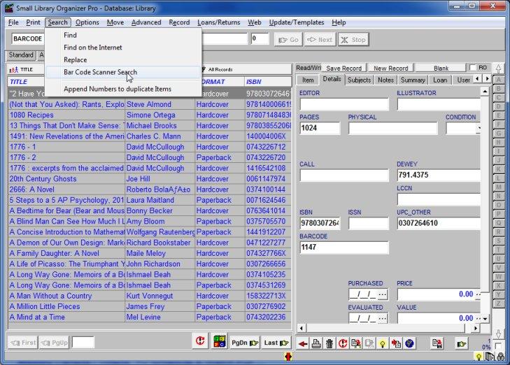 barcode scanner software