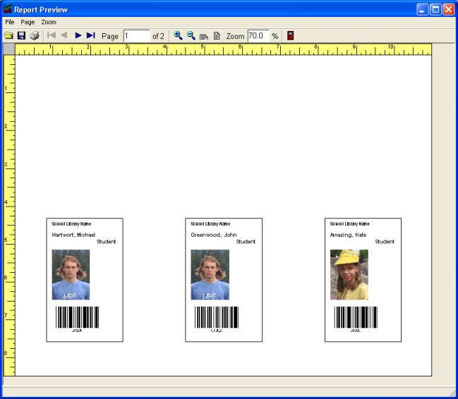 How To Print Member Patron Id Cards.
