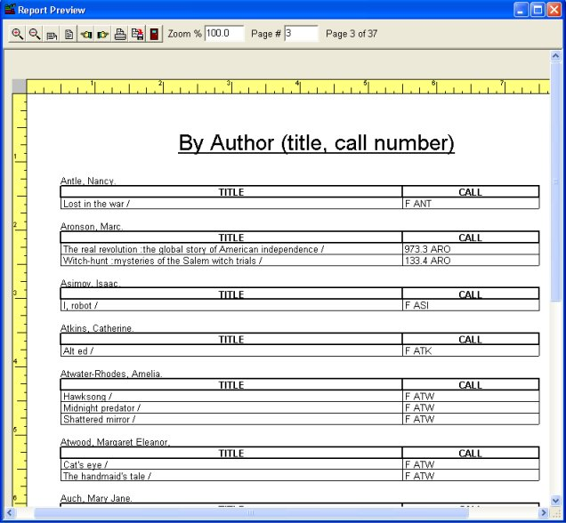How To Print Grouped Report, Categorized Report