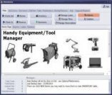 handy equipment tool manager, business inventory system
