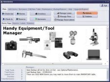 laboratory equipment, test tool equipment software, tool equipment software