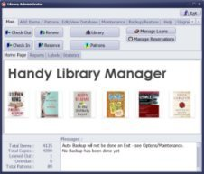 Handy Library Manager - click for full size