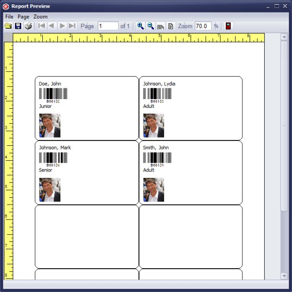 handy library manager tutorial evaluate library member id card