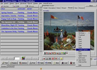 Click to view Art, Antiques Organizer Deluxe 4.1 screenshot