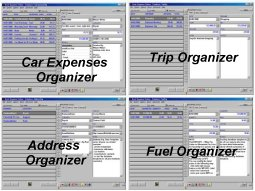 Auto Organizer Deluxe - Organize car expenses, trips, auto contacts