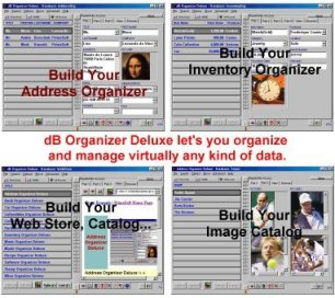 Click to view dB Organizer Deluxe 4.1 screenshot