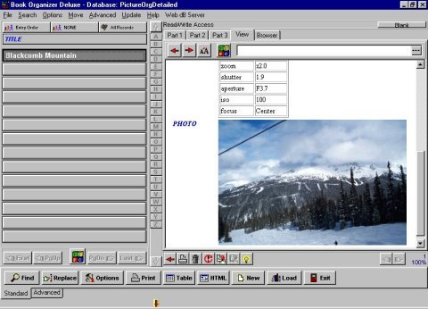 Click to view Photo Organizer Deluxe 4.12 screenshot