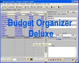 Click to view Budget Organizer Deluxe screenshots