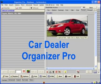 Click to view Car Dealer Organizer Pro 3.1 screenshot