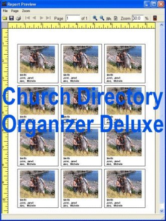 Windows 7 Church Directory Organizer Deluxe 4.12 full