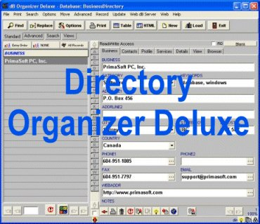 Click to view Directory Organizer Deluxe screenshots