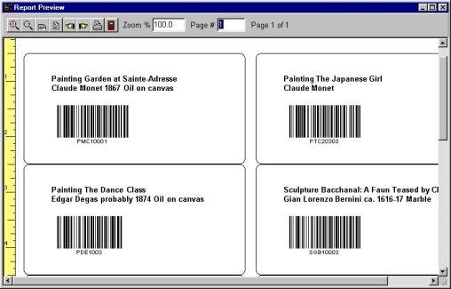 print address, contact labels