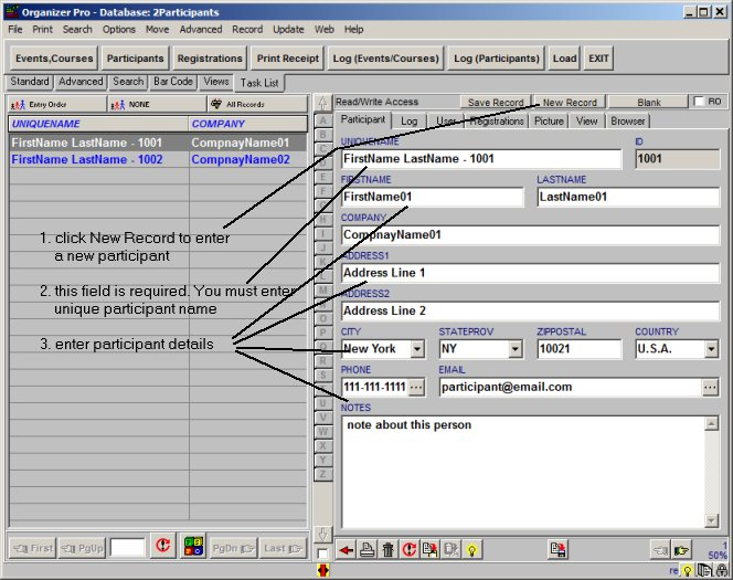 Event/Class Registration Organizer Pro: simple event, course ...