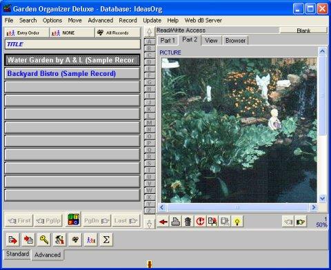 Software Tour Garden Organizer Deluxe Gardening