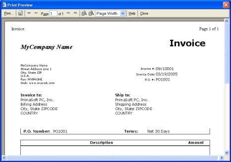 Invoice Management Solutions Software For Windows - Invoice database software