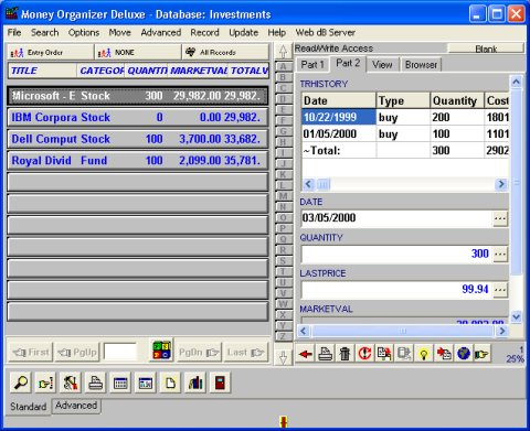 money management template. Software Solution Template 2: organize all your Money records.