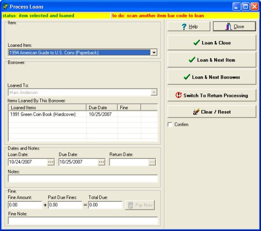 school library software easily sort library records